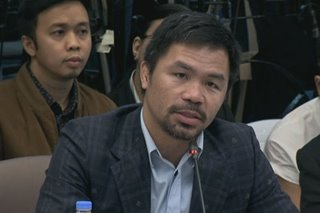 Pacquiao: ABS-CBN potential shutdown a 'big loss' for Filipinos