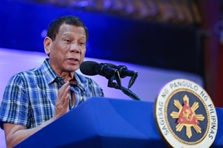 Duterte urges Filipinos: Rise above 'petty' political differences on EDSA anniversary