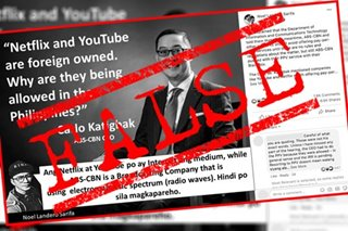 VERA FILES FACT CHECK: 'Quote' of ABS-CBN CEO asking why foreign-owned YouTube, Netflix allowed to operate in PH NOT TRUE