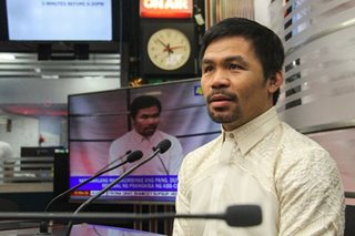 Pacquiao seeks help to establish quarantine facilities, gather funds for 'heroes' in COVID-19 fight