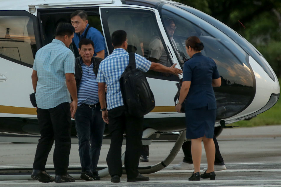 Pnp Helicopter Crash Unlikely To Influence Duterte On Chopper Trips Says Panelo Abs Cbn News