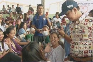 Mga nasalanta ng Taal eruption sa Ibaan, Batangas hinatiran ng mga serbisyo