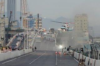 Duterte inspects NLEX-Harbor Link in Caloocan