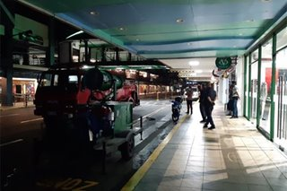 LOOK: Greenhills mall disinfected over coronavirus fears