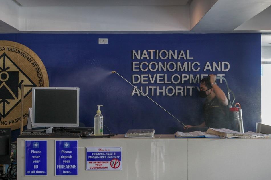 NEDA headquarters undergo sanitizing
