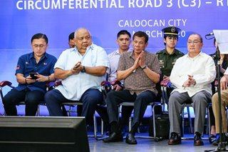 Duterte, Cabinet members exposed to COVID-19 patient in March 5 infra event