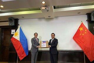 China donates 2,000 COVID-19 test kits to PH