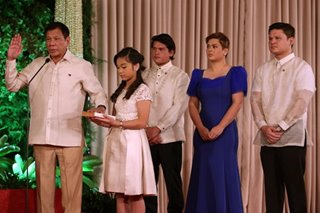 Duterte family tested for COVID-19