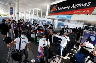 PH lifts travel ban on outbound int'l flights in Luzon