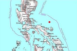 Phivolcs: M5.0 quake jolts Catanduanes, aftershocks may occur