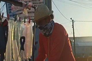 Magtataho namigay ng libreng almusal sa mga frontline workers sa Valenzuela