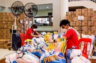 DSWD food packs ready for distribution once LGU stocks runs out