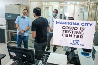 DOH rejects Marikina lab for COVID-19 testing, says it shouldn't be inside city hall