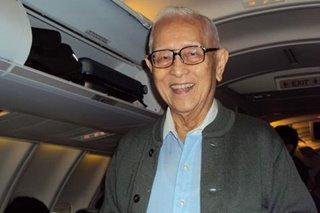 Ninoy slay prober Bienvenido Tan dies at 96