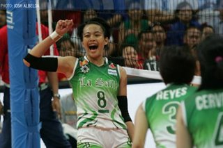 Ara Galang, UST spikers auction off jerseys to raise funds for frontliners