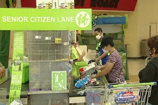 DTI: Senior citizens bigyan ng courtesy lane sa supermarkets