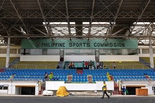 PhilSports Complex, Rizal Stadium to be converted into COVID facilities: PSC