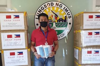 Chinese city donates 20,000 face masks to Imus