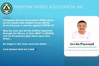 Filipino nurse is latest frontliner to lose COVID-19 fight: peers