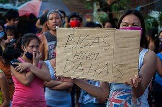 'Bigas hindi dahas'