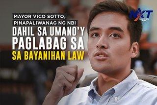 Mayor Vico Sotto, pinagpapaliwanag ng NBI dahil sa umano'y paglabag sa Bayanihan Law