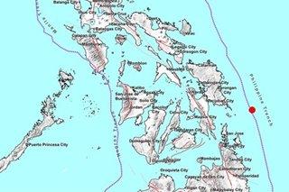 4.5-magnitude quake jolts Eastern Samar