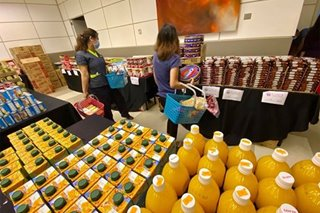 St. Luke's Medical Center opens 'free' grocery store for its health workers battling COVID-19