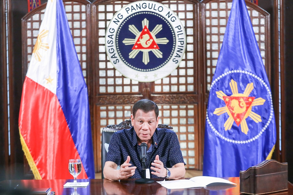 Duterte calls on S. China Sea claimants to 'refrain from escalating tensions' amid pandemic - ABS-CBN News