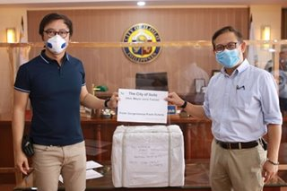 Iloilo City gov't receives 1,700 UP-developed COVID-19 test kits