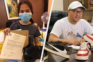 'Pa-bid daw ulit': Ipinasubastang sneakers ni Mayor Nieto binayaran pero iniwan ng nanalo