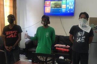 3 lalaki timbog sa paglabag sa liquor ban sa Nueva Ecija