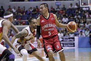 PBA: Ginebra's Tenorio relishes time with family during lockdown