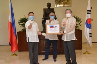 PH receives coronavirus tests kits from South Korea