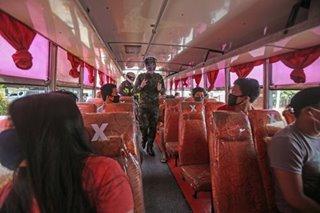 Biyahe ng bus mula Batangas City papuntang Ortigas, Cubao balik na