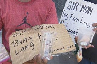 Ilang mangangalakal sa Tondo nabubuhay na lang sa pamamalimos