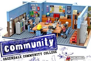 'Community' stars, fans support Filipino-designed LEGO set in bid to reach 10,000 votes