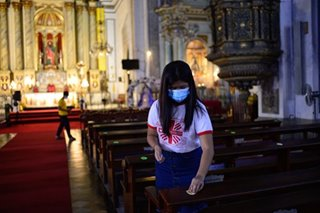 Catholic Church urged to submit religious services guidelines during quarantine period