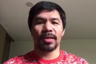 WATCH: Pacquiao thanks House for being fair, giving ABS-CBN due process