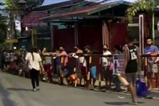 4,000 residente ng Payatas, nag-aabang na mabigyan ng ayuda
