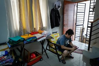 PHOTO ESSAY: Filipino doctor back helping patients after recovering from coronavirus