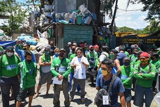 QC garbage workers await for separation benefits