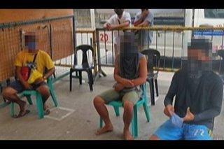 3 tumawid ng dagat para makabili ng alak sa Talisay, Negros Occidental sinita