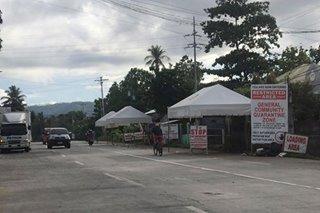 Ilang quarantine checkpoints sa Zamboanga del Norte inalis na