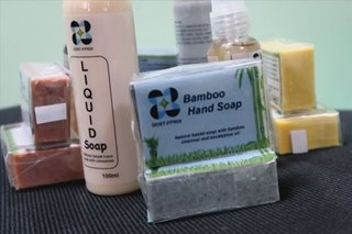 DOST-FPRDI nag-develop ng bamboo-based antibac soap, mist