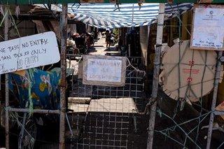 'Targeted lockdown' sa 3 lugar sa barangay sa Caloocan, umiiral na