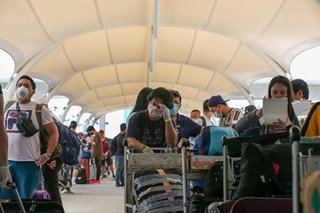 Philippines sends home 4,000 stranded OFWs