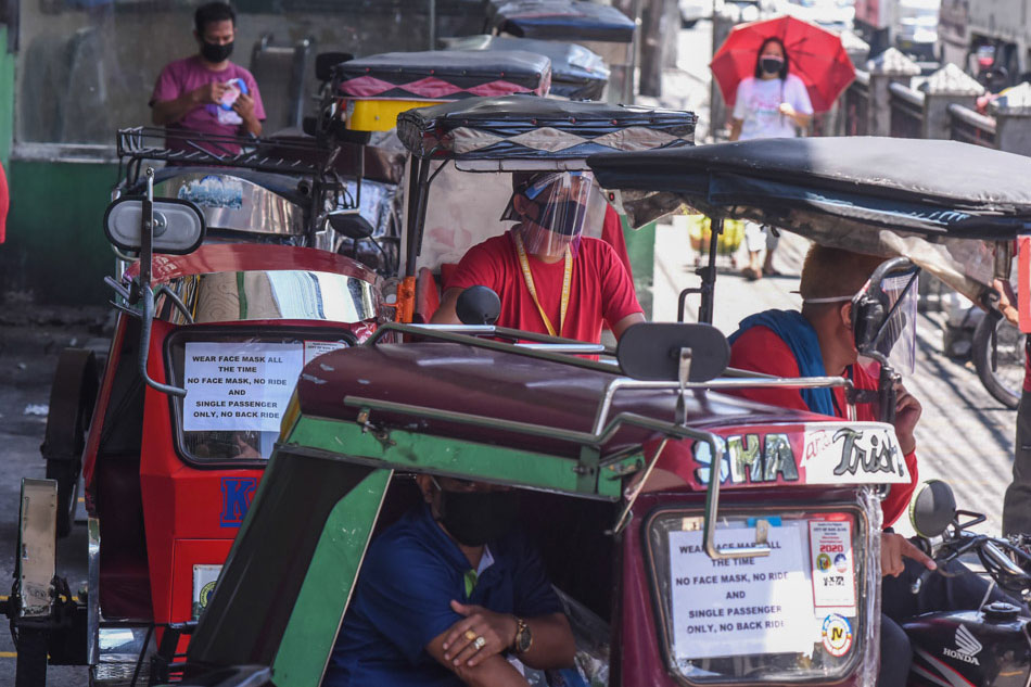 Tricycles back in San Juan