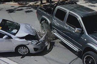 PANOORIN: 2 insidente ng banggaan sa Quezon City