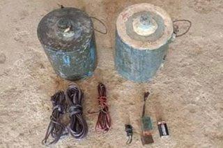 2 bomba natagpuan sa Samar