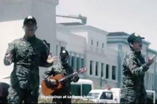 PANOORIN: Pag-iingat, tulungan kontra COVID-19 tema ng music video ng mga pulis sa Western Visayas